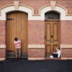 2 children in doorways for post perky writing tips and tricks